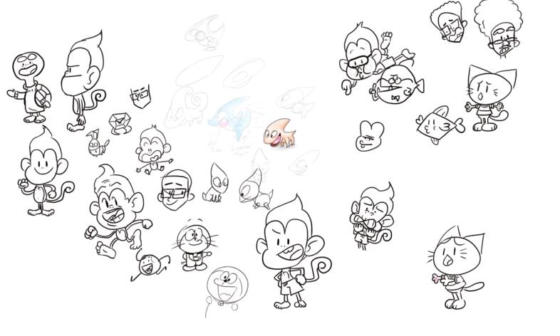 Creature Concept Sketches 9/21/17