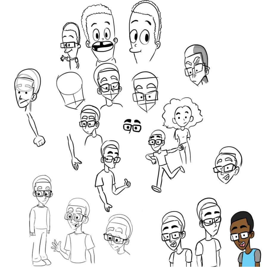 Practice Fam Sketches 3/13/18