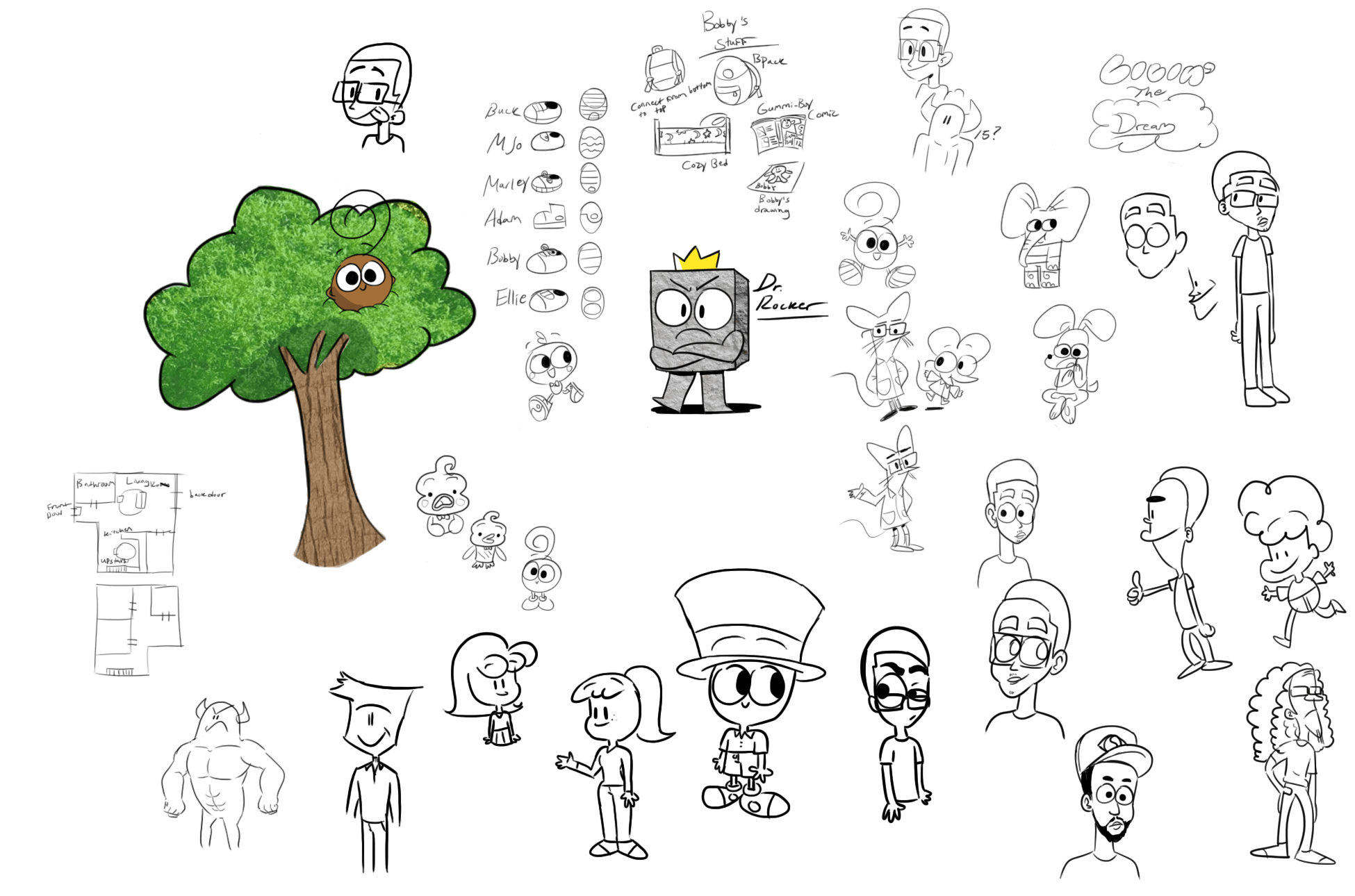 The Adventures of Bobby Sketches 1/15/18